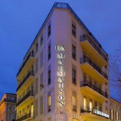 Отель Бутик-отель La Malmaison Nice Франция, Ницца - 1 отзыв об отеле, цены и фото номеров - забронировать отель Бутик-отель La Malmaison Nice онлайн вид на фасад
