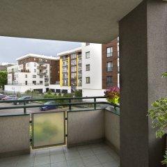 Отель Media Park Варшава балкон