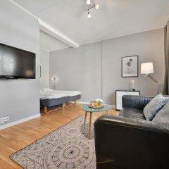 Апартаменты Forenom Serviced Apartments Oslo Rosenborg комната для гостей фото 2