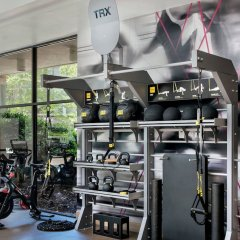 Отель Bethesda Marriott фитнесс-зал фото 3