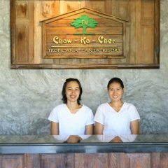 Отель Chaw Ka Cher Tropicana Lanta Resort интерьер отеля