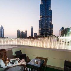 Апартаменты Downtown Al Bahar Apartments Дубай балкон