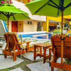 Los Patios Hotel бассейн