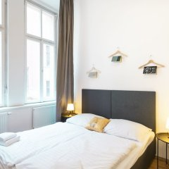 Апартаменты Hybernska Apartments балкон