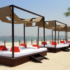 Отель Sheraton Jumeirah Beach Resort ОАЭ, Дубай - 3 отзыва об отеле, цены и фото номеров - забронировать отель Sheraton Jumeirah Beach Resort онлайн пляж фото 2
