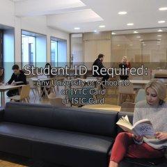 Отель Student Haus Kings Cross Лондон помещение для мероприятий