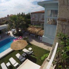 Evliyagil Hotel by Katre Чешме балкон