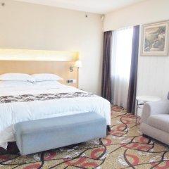 Hotel Beverly Plaza комната для гостей