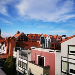 Elewator Gdansk Hostel балкон