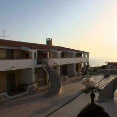 San Domenico Family Hotel Скалея балкон
