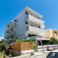 Lefka Hotel, Apartments & Studios Родос вид на фасад фото 2