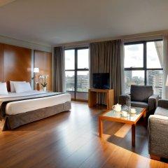 Отель Exe Plaza Испания, Мадрид - отзывы, цены и фото номеров - забронировать отель Exe Plaza онлайн комната для гостей фото 2
