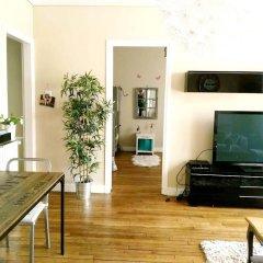 Апартаменты Apartment With 2 Bedrooms in Saint-denis, With Wonderful City View, Ba интерьер отеля