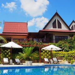 Отель Baan Kantiang See Panorama Villa Resort Ланта бассейн