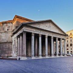 Отель Domus Clara Рим вид на фасад