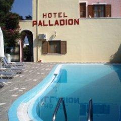 Отель Palladion Греция, Остров Санторини - отзывы, цены и фото номеров - забронировать отель Palladion онлайн бассейн фото 2