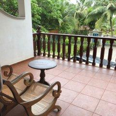 Отель Wunderbar Beach Club Hotel Шри-Ланка, Бентота - отзывы, цены и фото номеров - забронировать отель Wunderbar Beach Club Hotel онлайн балкон