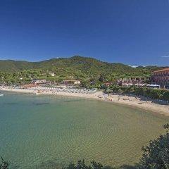 Hotel Del Golfo Проччио пляж