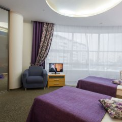 Гостиница Визави комната для гостей фото 4