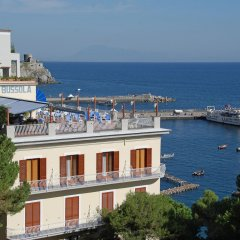 Отель La Bussola Италия, Амальфи - 1 отзыв об отеле, цены и фото номеров - забронировать отель La Bussola онлайн пляж фото 2