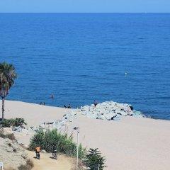 Отель Rocatel Испания, Канет-де-Мар - отзывы, цены и фото номеров - забронировать отель Rocatel онлайн пляж фото 2