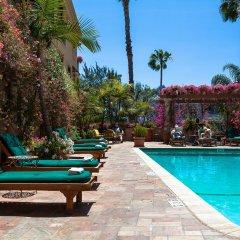 Отель Best Western PLUS Sunset Plaza США, Уэст-Голливуд - отзывы, цены и фото номеров - забронировать отель Best Western PLUS Sunset Plaza онлайн бассейн фото 3