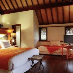 Отель Sofitel Moorea la Ora Beach Resort Французская Полинезия, Папеэте - 1 отзыв об отеле, цены и фото номеров - забронировать отель Sofitel Moorea la Ora Beach Resort онлайн комната для гостей фото 4