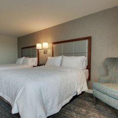 Отель Hampton Inn by Hilton Pawtucket комната для гостей