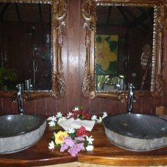 Отель Hôtel Fenua Mata'i'oa ванная