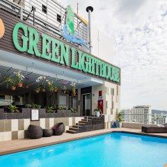 Green Lighthouse Hotel бассейн