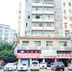 Anxin Hotel вид на фасад фото 2
