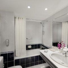 Отель Savoy Central Hotel Apartments ОАЭ, Дубай - 3 отзыва об отеле, цены и фото номеров - забронировать отель Savoy Central Hotel Apartments онлайн ванная фото 2