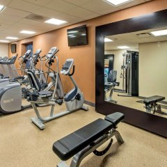 Отель Hilton Garden Inn Minneapolis Airport Mall Of America Блумингтон фитнесс-зал
