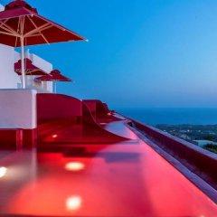 Art Hotel Santorini пляж фото 2