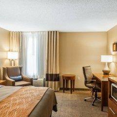 Отель Comfort Inn North/Polaris США, Колумбус - отзывы, цены и фото номеров - забронировать отель Comfort Inn North/Polaris онлайн удобства в номере фото 2
