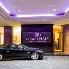 Отель Crowne Plaza Lumpini Park Бангкок городской автобус
