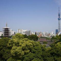 Отель Residential Hotel B:CONTE Asakusa Япония, Токио - 1 отзыв об отеле, цены и фото номеров - забронировать отель Residential Hotel B:CONTE Asakusa онлайн балкон