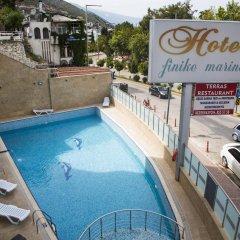 Hotel Finike Marina бассейн