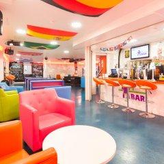 Отель SoHostel Лондон гостиничный бар
