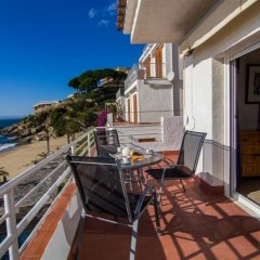 Отель Almadraba Platja 3000 Apts Курорт Росес балкон