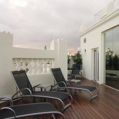 Отель Melia Plaza Valencia бассейн фото 3