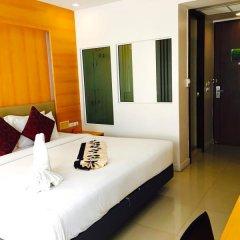Отель Andatel Grandé Patong Phuket 4* Улучшенный номер с различными типами кроватей фото 11