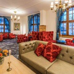 Отель Central Swiss Quality Sporthotel Швейцария, Давос - отзывы, цены и фото номеров - забронировать отель Central Swiss Quality Sporthotel онлайн комната для гостей фото 5