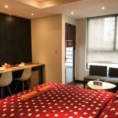 Апартаменты Henry Apartment Luxury Studio комната для гостей