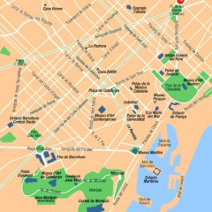 Отель Catalonia Albeniz Барселона городской автобус