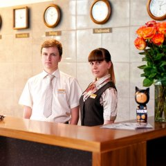 Гостиница Skyport в Оби - забронировать гостиницу Skyport, цены и фото номеров Обь интерьер отеля фото 3