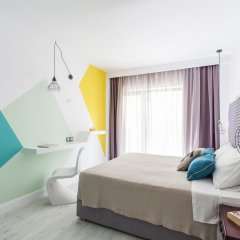 Отель Blue Bottle Boutique Hotel Греция, Салоники - отзывы, цены и фото номеров - забронировать отель Blue Bottle Boutique Hotel онлайн комната для гостей