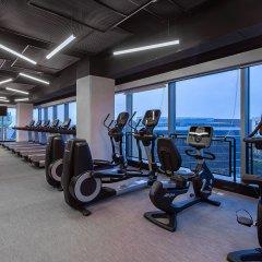 Отель Indigo Shanghai Hongqiao Китай, Шанхай - отзывы, цены и фото номеров - забронировать отель Indigo Shanghai Hongqiao онлайн фитнесс-зал фото 2