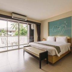 Отель TIRAS Patong Beach Hotel Таиланд, Патонг - отзывы, цены и фото номеров - забронировать отель TIRAS Patong Beach Hotel онлайн комната для гостей фото 2