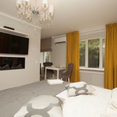 Апартаменты Kvart Boutique City комната для гостей фото 3